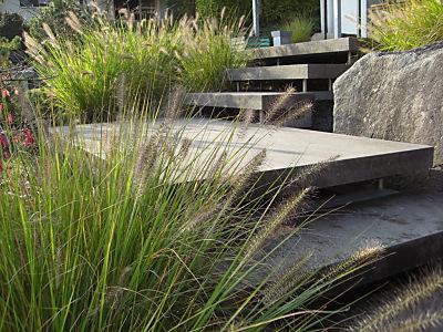 Steinzeit im Garten