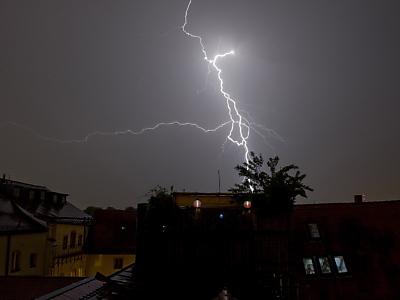 Blitzschutzanlagen in gefährdeten Regionen sinnvoll