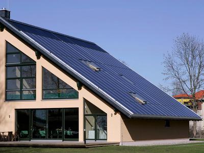 Mit Sonnenenergie das Haus beheizen