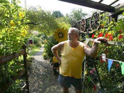 Unfallursache Gartenarbeit