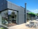 Haus mit Metallfassade - Aus Aluminium