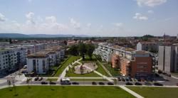 Blick auf die neue Südoststadt