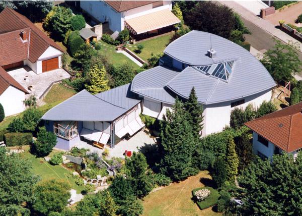 Luftbild Wohnhaus Werner
