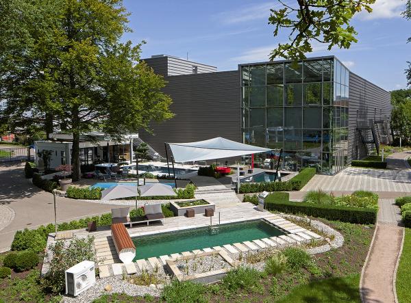 Sommer, Garten – Pool