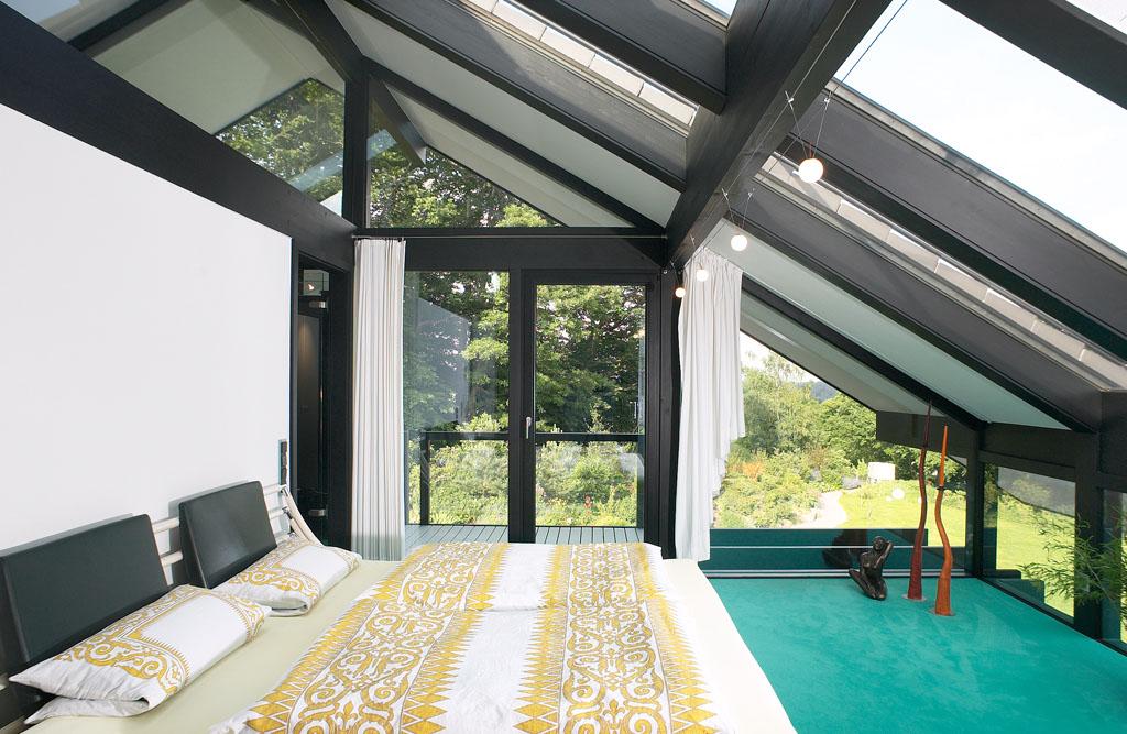 schlafzimmer mit akzenten frische farben f r den fr hling bauherren immobilien magazin. Black Bedroom Furniture Sets. Home Design Ideas