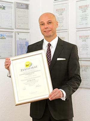 Immobilienmakler Bernd Fleischer