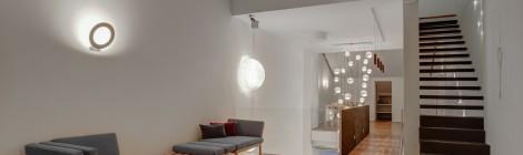 Optimales Licht in offenen Wohnräumen