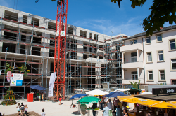 Haus Sonnensang Karlsruhe Richtfest