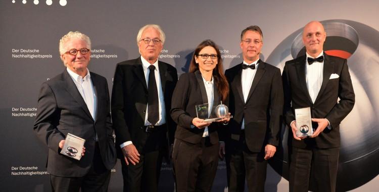 Der Sieger und die Nominierten des Sonderpreis Nachhaltiges Bauen