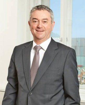 Reiner Kuklinski, Geschäftsführer der Volkswohnung in Karlsruhe