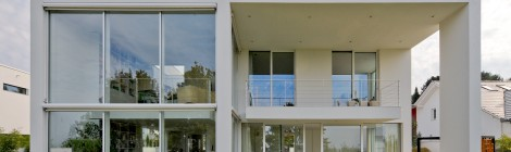 Villa mit Weitblick in Karlsruhe geplant von Herzog, Kassel + Partner