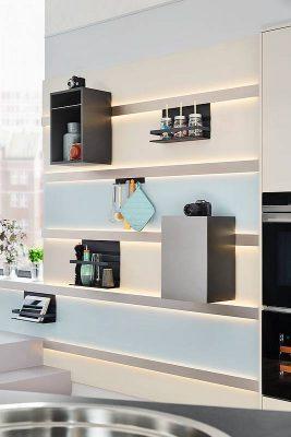 Y-Küche küchentrends küchenregale
