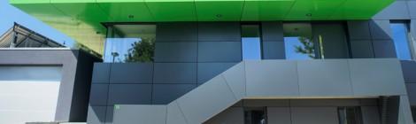 Hausbau: Fassaden- und Dachbau aus Aluminium