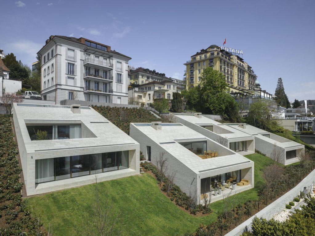 Stadtvillen in der Schweiz von alp - Architektur lischer partner ag.