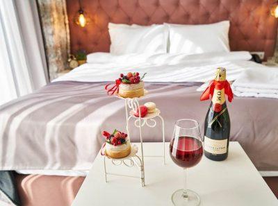 luxus im schlafzimmer - bett