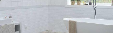 minimalismus im badezimmer