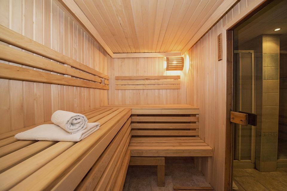 sauna aus blockbohlen