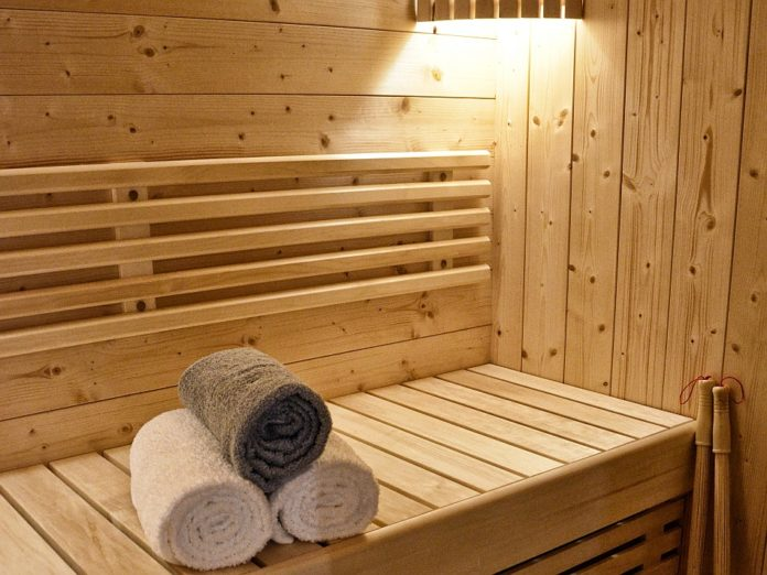 sauna zuhause