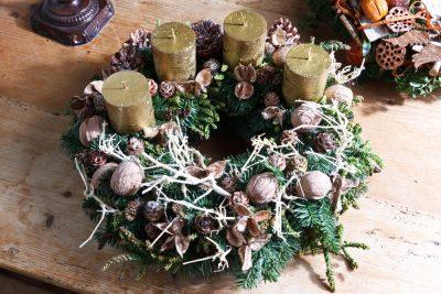 Weihnachten Dekoration Adventskranz